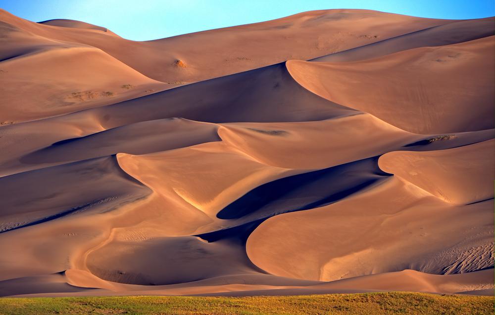 Sunrise On The Dunes
