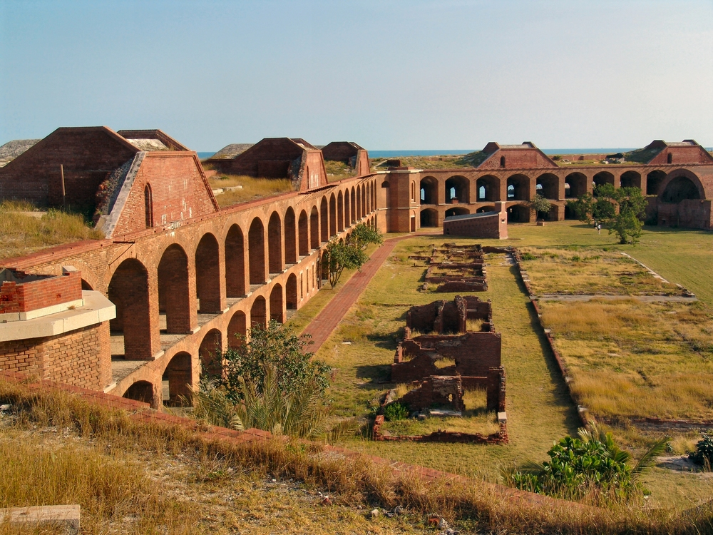 a view inside fort jefferson – (PHOTO: THOMAS BARRAT/SHUTTERSTOCK)