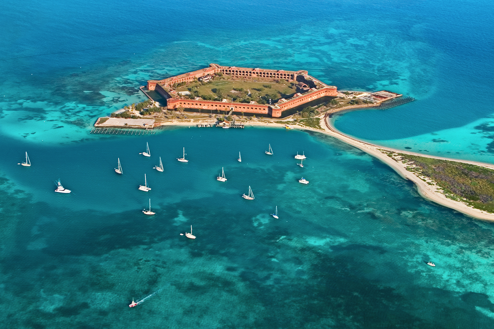 Fort Jefferson – (PHOTO: Varina and Jay Patel/SHUTTERSTOCK)