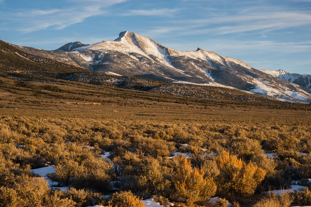 The High Mountain Peaks Of Great Basin National Park – (PHOTO:Christopher Boswell/SHUTTERSTOCK)