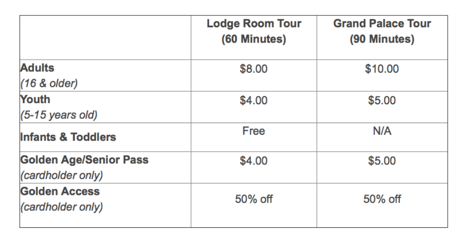 Lehman Caves Tour Ticket Prices