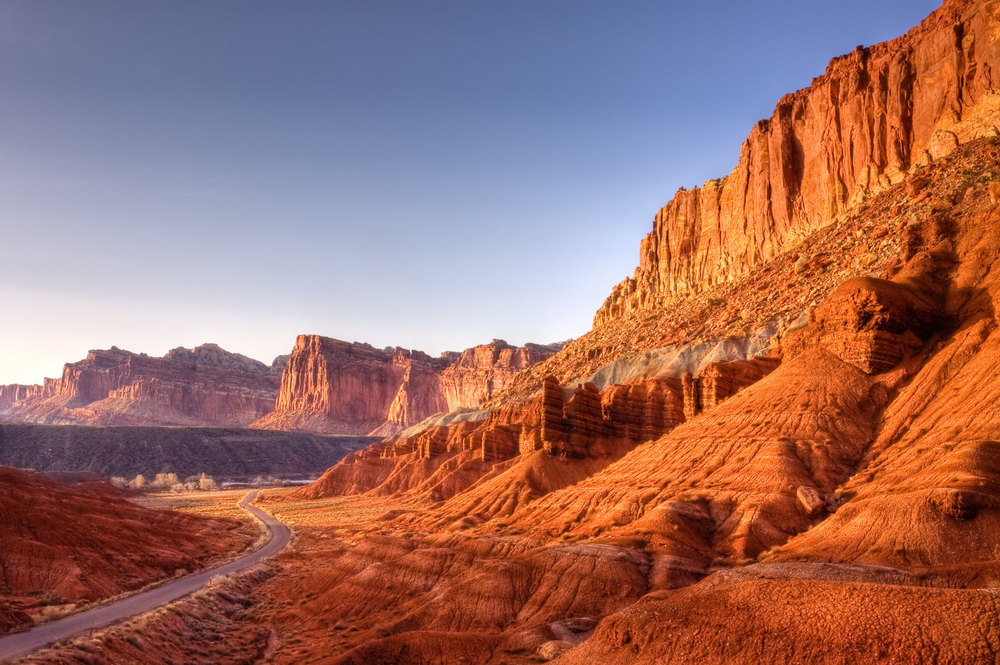 ROAD TO FRUITA - CAPITOL REEF NATIONAL PARK –  (PHOTO: RICK WHITACRE/SHUTTERSTOCK)
