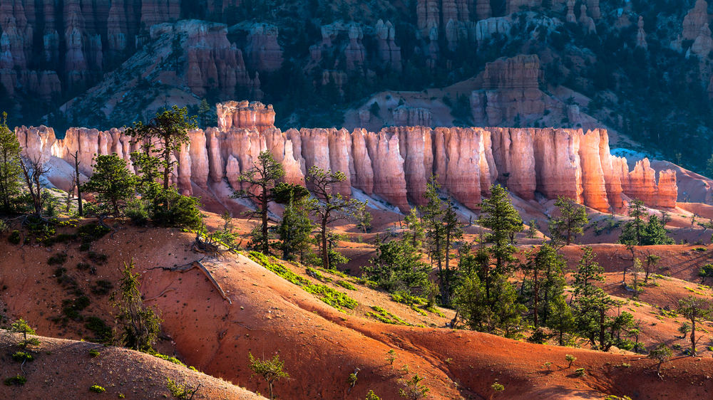 beautiful formations in bryce canyon national park – (PHOTO: OSCITY/SHUTTERSTOCK)