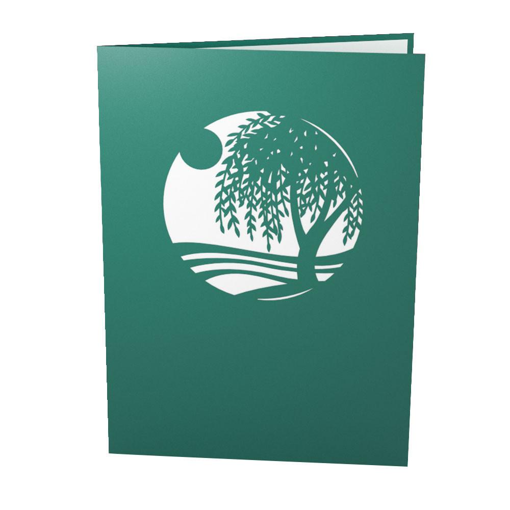 Willow tree 3d pop up card purple moose basics national park willow tree 3d pop up card m4hsunfo