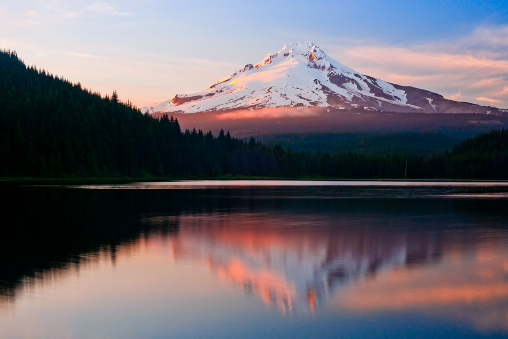 View From Trillium Lake | Mount Hood National Forest – (Photo: Um Sixtyfour/Shutterstock)