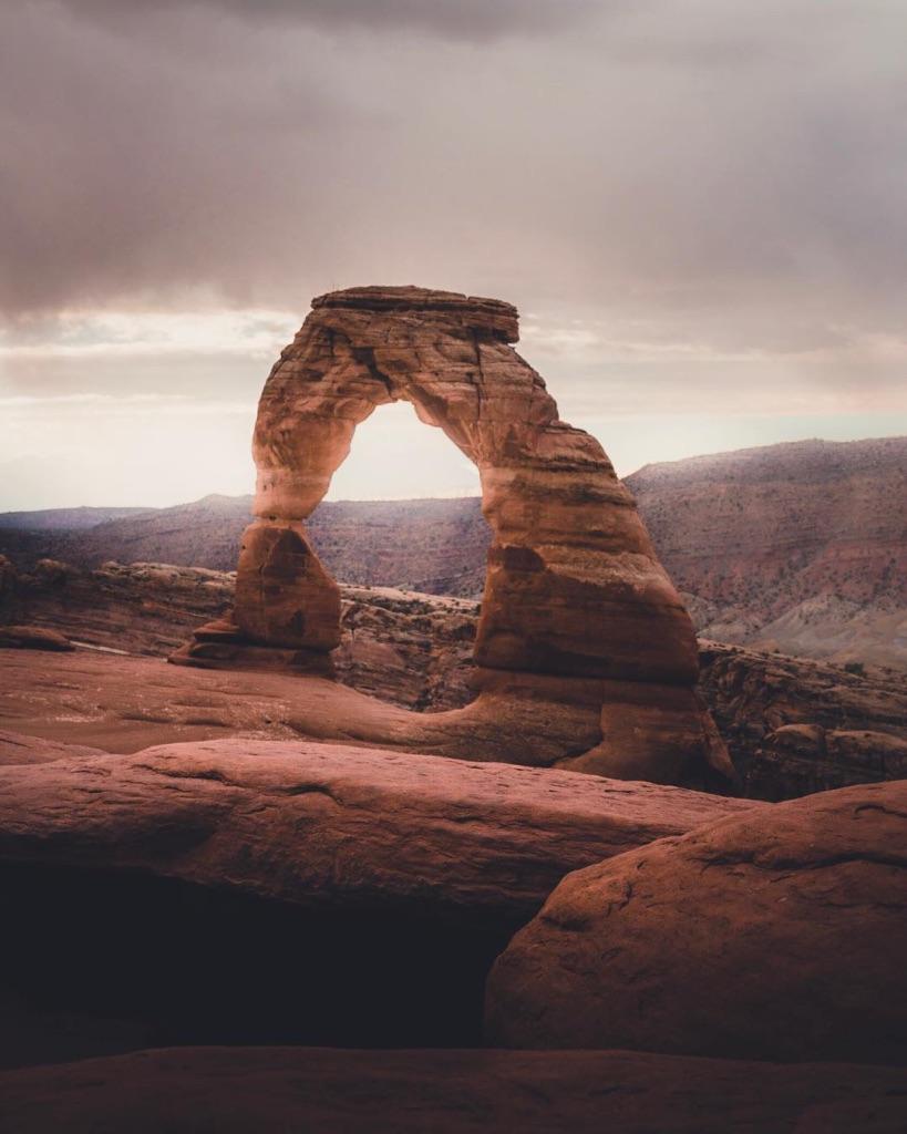 Delicate Arch | Arches National Park | © Daniel Vo