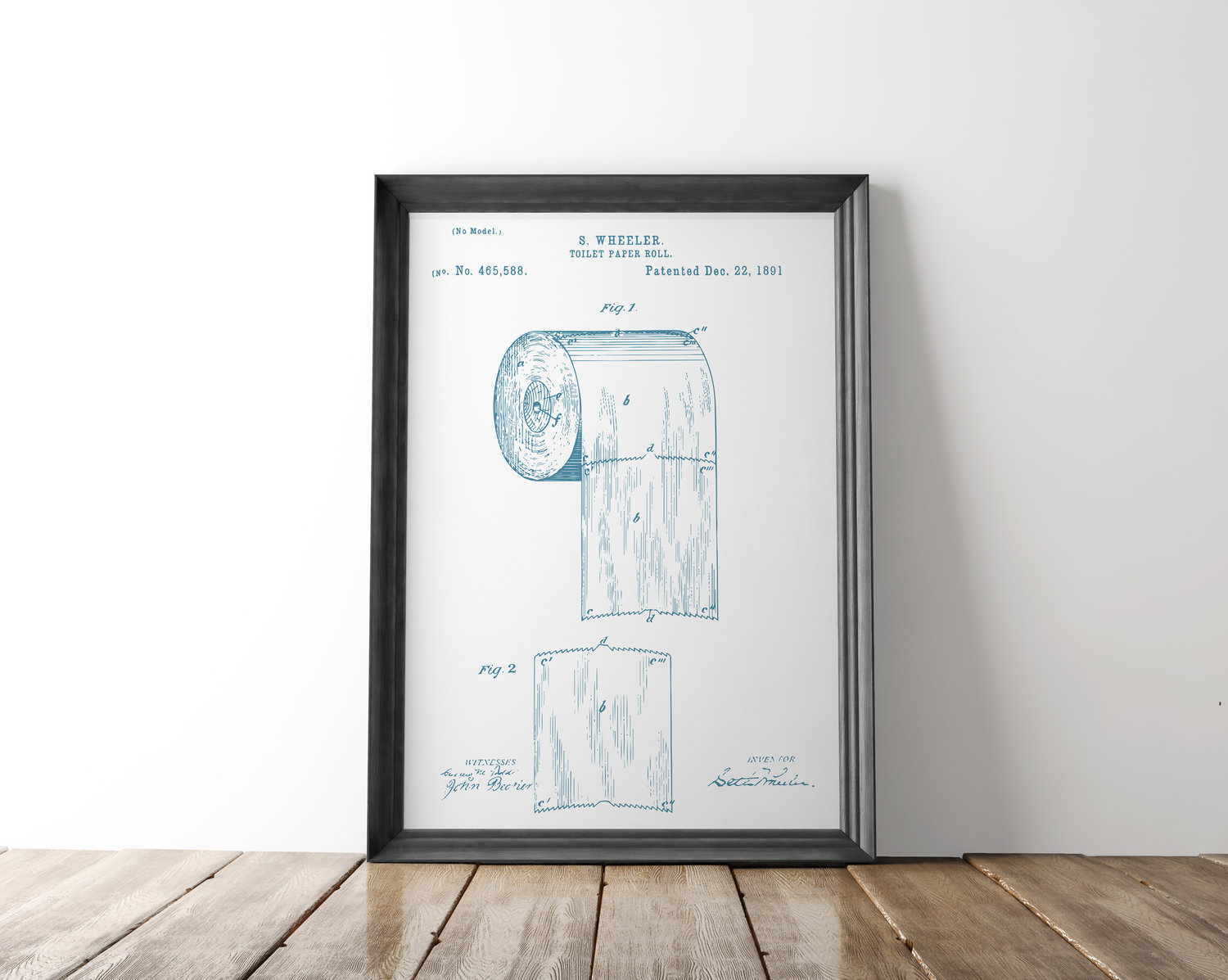 Toilet paper patent poster toilet paper patent art blueprint art toilet paper patent poster toilet paper patent art blueprint art patent wall art bathroom patent print bathroom art malvernweather Gallery
