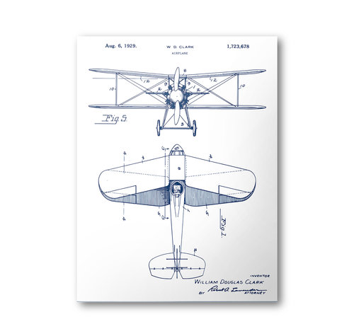 Biplane patent poster airplane patent art blueprint art patent biplane patent poster airplane patent art blueprint art patent wall art aircraft patent print patent art home decor malvernweather Images