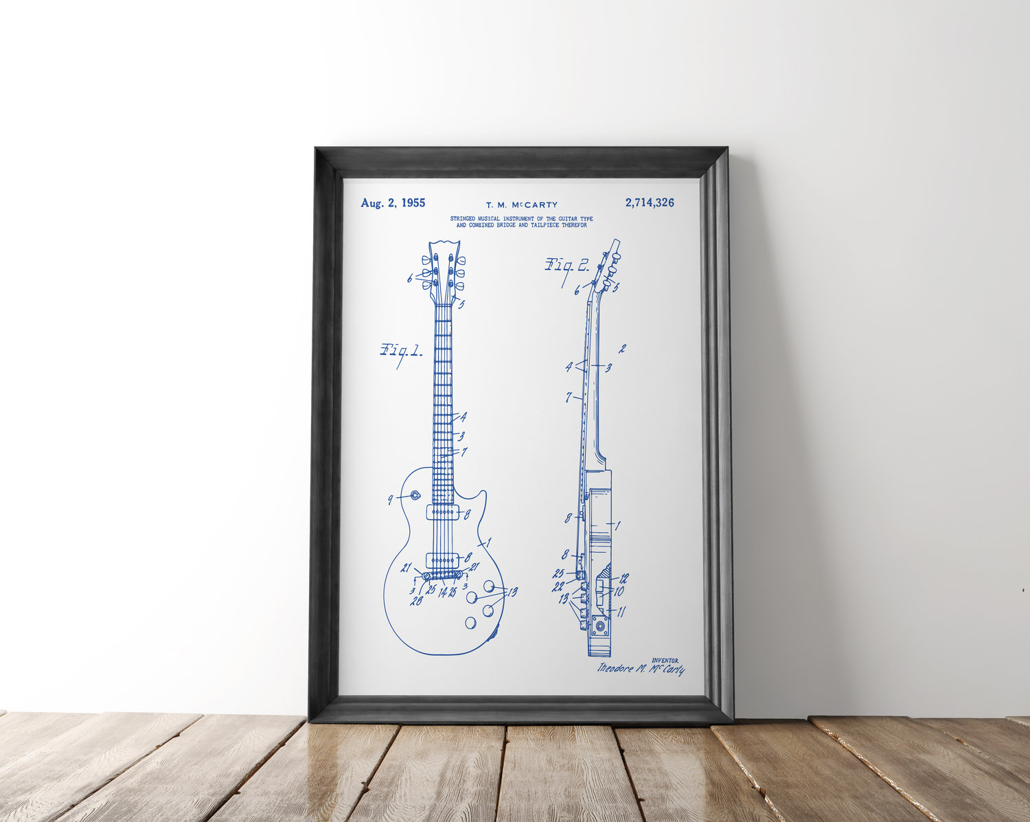 Gibson les paul guitar patent poster guitar patent art blueprint gibson les paul guitar patent poster guitar patent art blueprint art patent wall art les paul patent print patent art home decor malvernweather Images