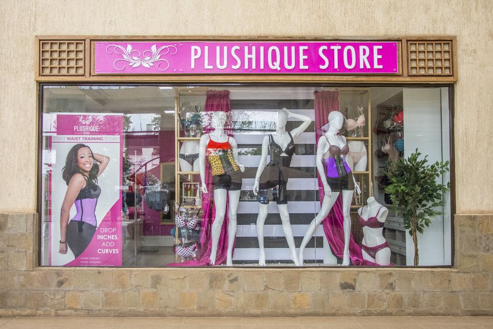 Plushique store front