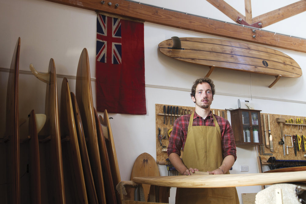 James Otter Wooden Surfboard Workshop Angle Portrait .jpg