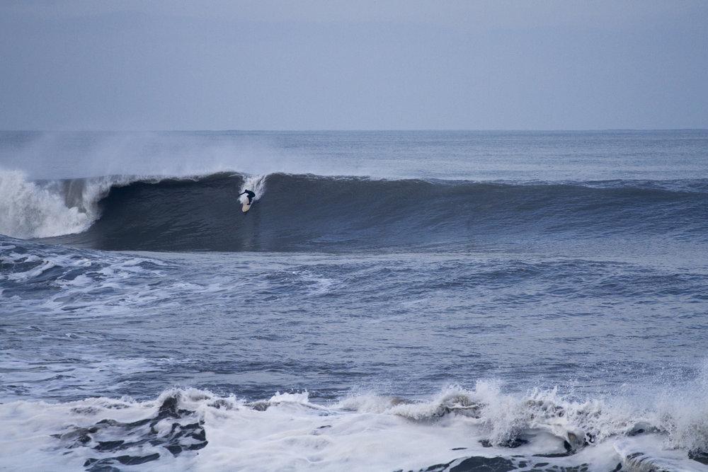 Surfer Jonny Leon