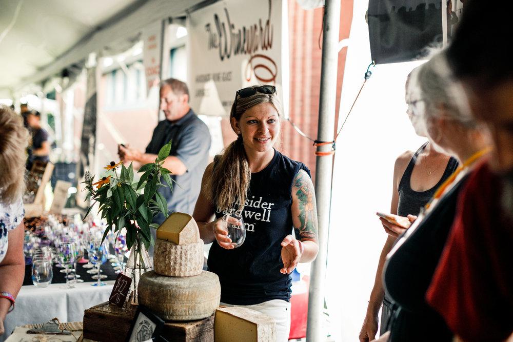 leslie goff, cheesemaker extraordinaire @sabingratzphotography