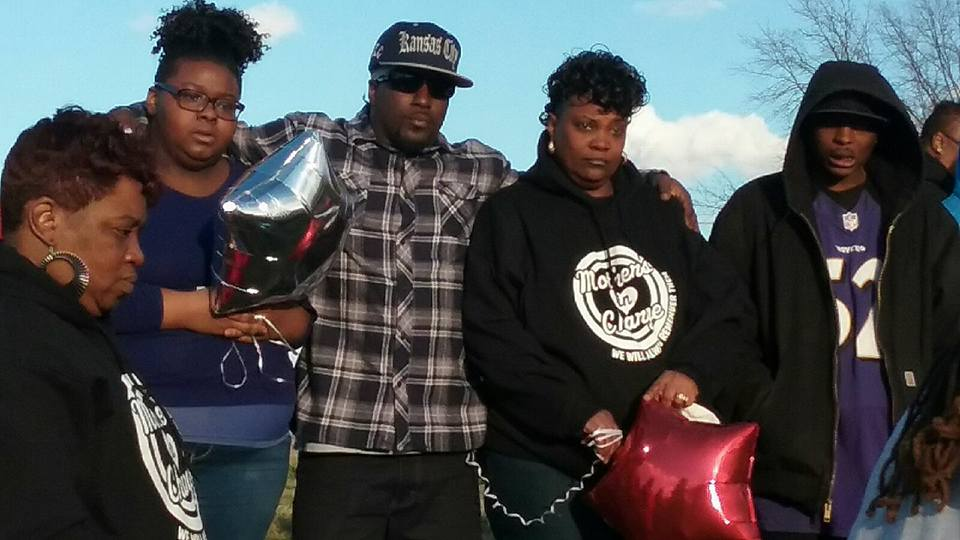 Donta's mother, family and friends gather to celebrate his life