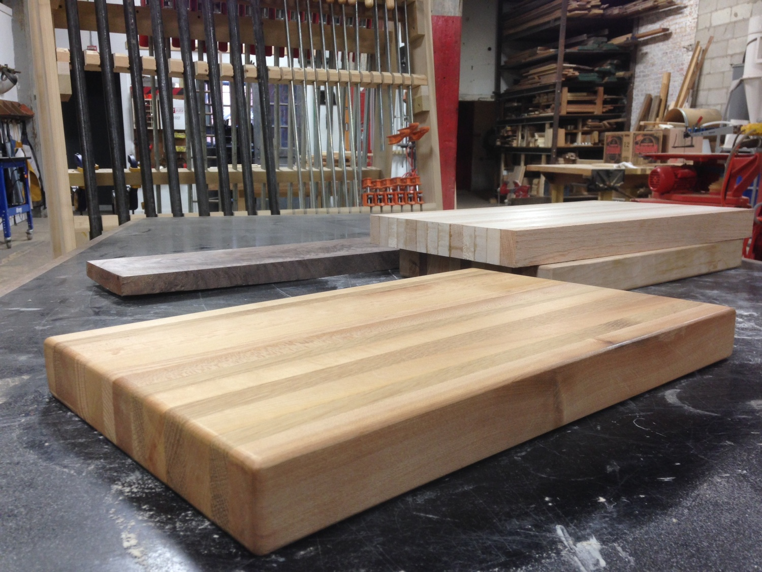 make your own cutting board station north tool library