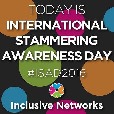 International Stammering Awareness Day 2016.
