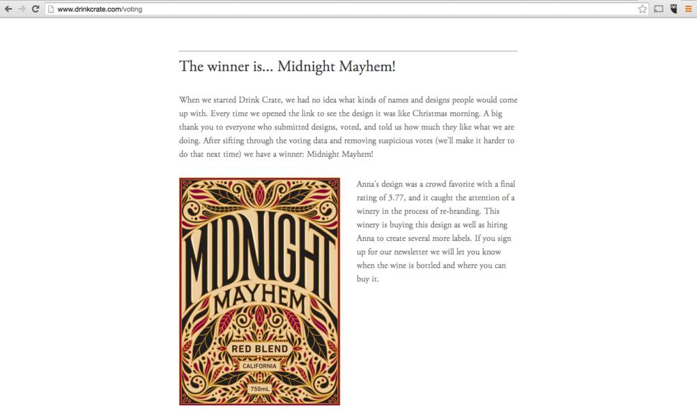 winner blog