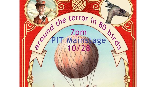 I'm opening for @terrorbirdsketch at the PIT tonight at 7!