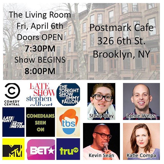 If you're in Brooklyn tonight, watch me let out my anger and depression through comedy!