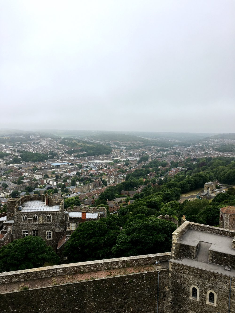View from Dover Castle
