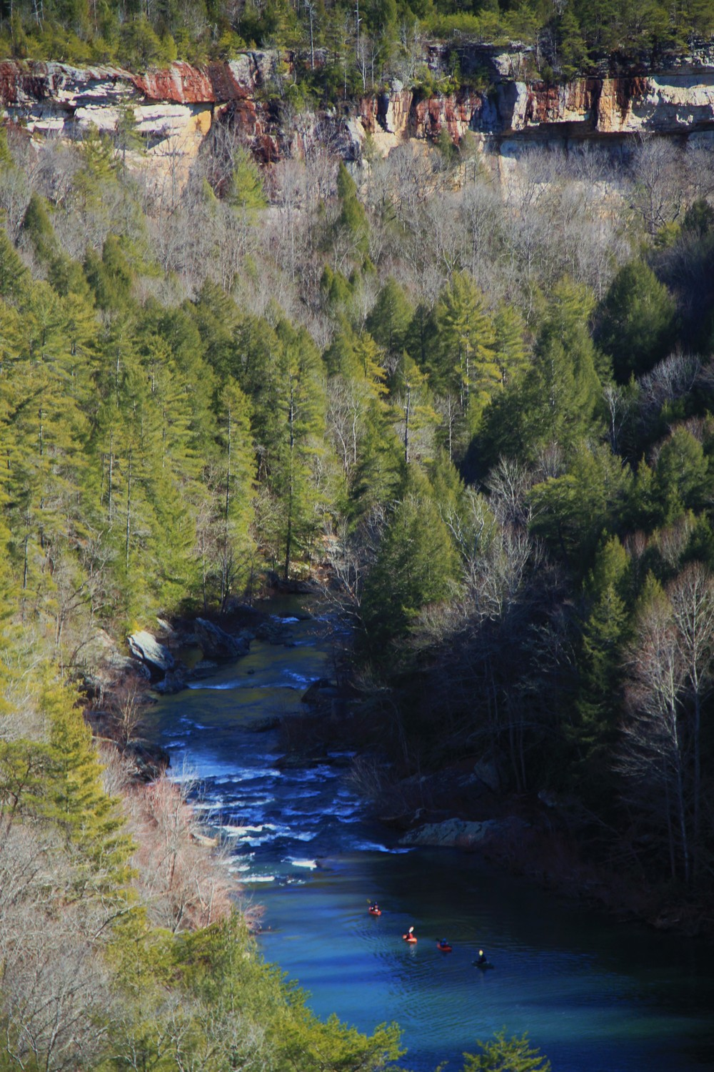 Clear Creek Canyon, from Whitewater of the Southern Appalachians, Volume 1