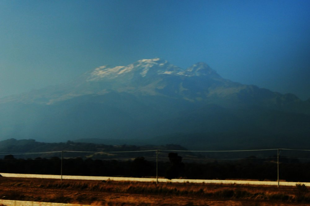 Ixtaccihuatl, third highest in Mexico