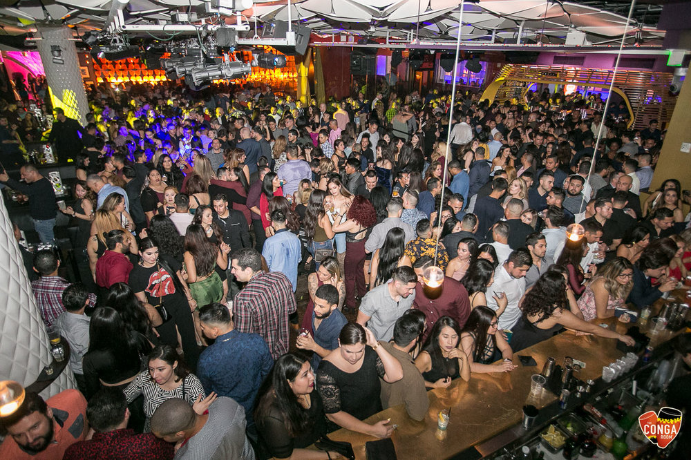 CONGA ROOM SATURDAYS - SATURDAY, FEBRUARY 3, 2018