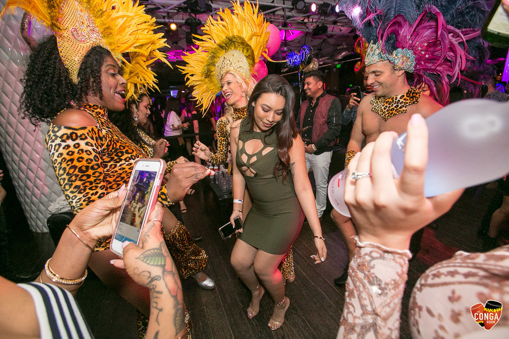 CONGA ROOM SATURDAYS - SATURDAY, FEBRUARY 10, 2018
