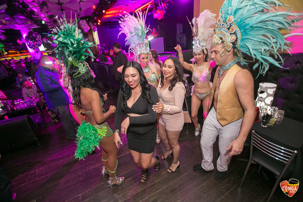 CONGA ROOM SATURDAYS - SATURDAY, MARCH 17, 2018