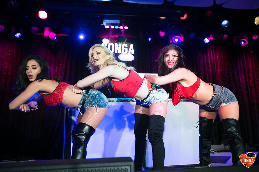 CONGA ROOM SATURDAYS - SATURDAY, APRIL 7, 2018