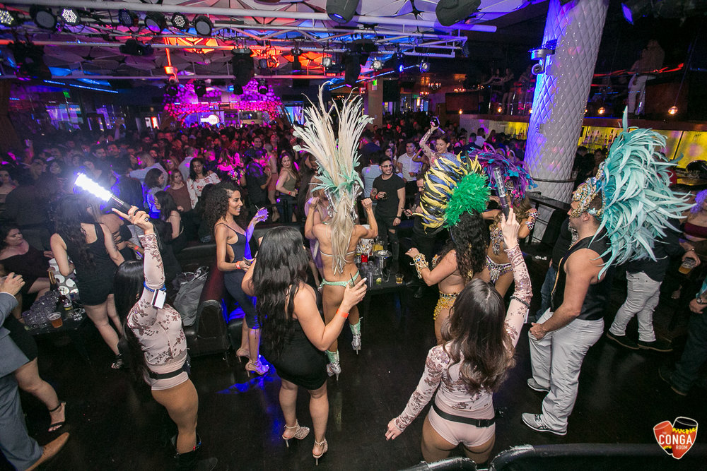 CONGA ROOM SATURDAYS - SATURDAY, APRIL 14, 2018