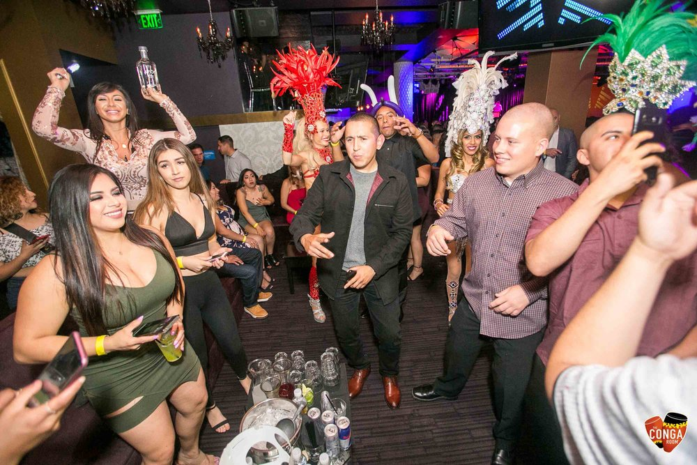 CONGA ROOM SATURDAYS - SATURDAY, APRIL 21, 2018