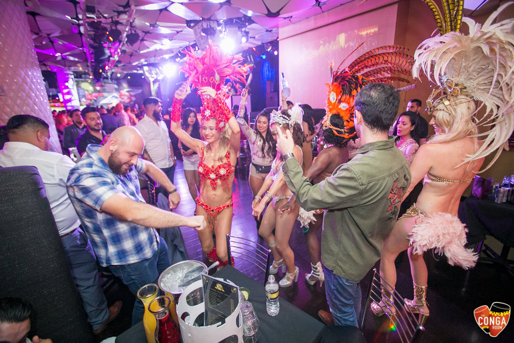 CONGA ROOM SATURDAYS - SATURDAY, JUNE 9, 2018