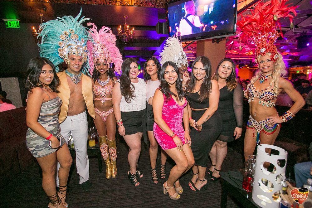 CONGA ROOM SATURDAYS - SATURDAY, JUNE 24, 2O18