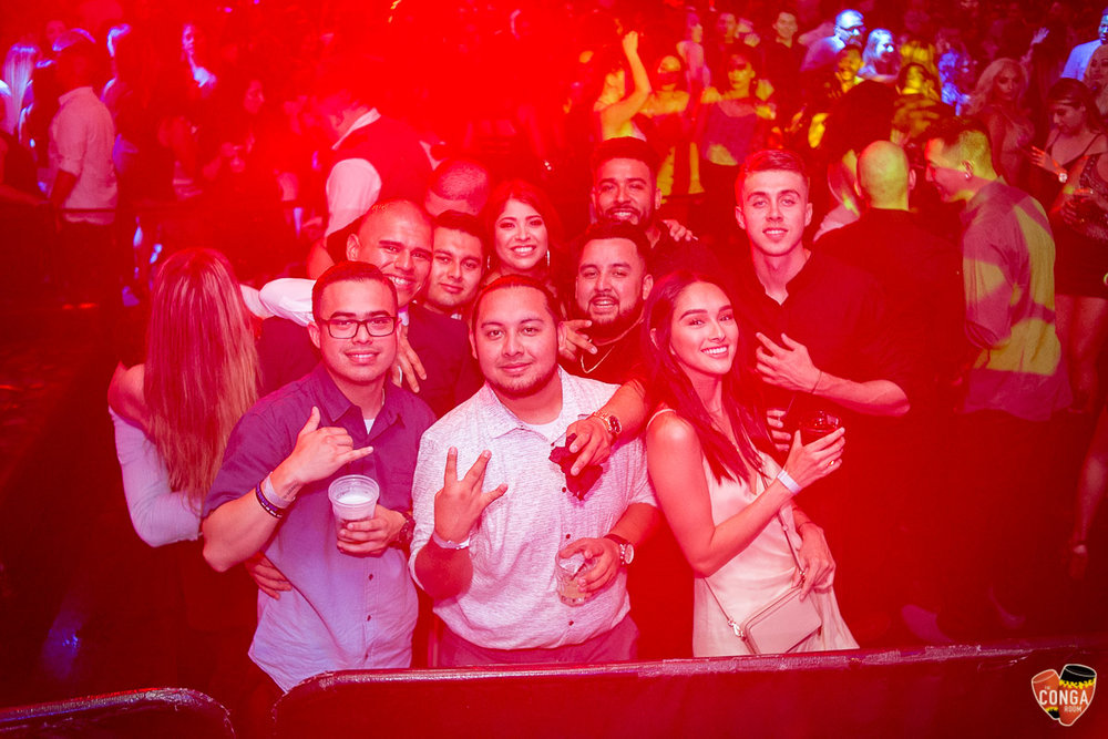 CONGA ROOM SATURDAYS - SATURDAY, AUGUST 4, 2018