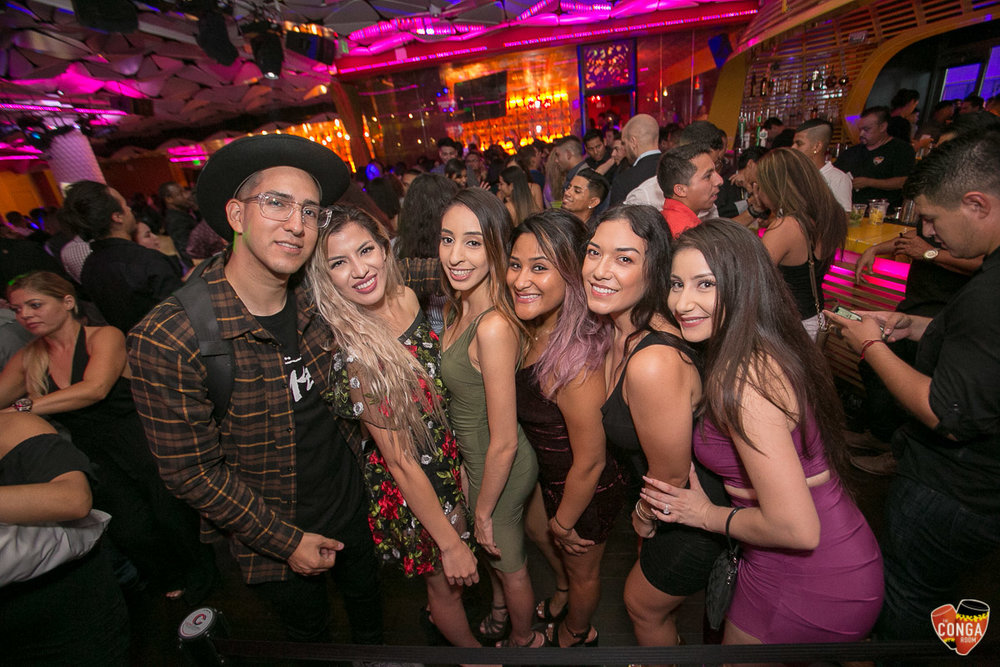 CONGA ROOM SATURDAYS - AUGUST 18, 2018