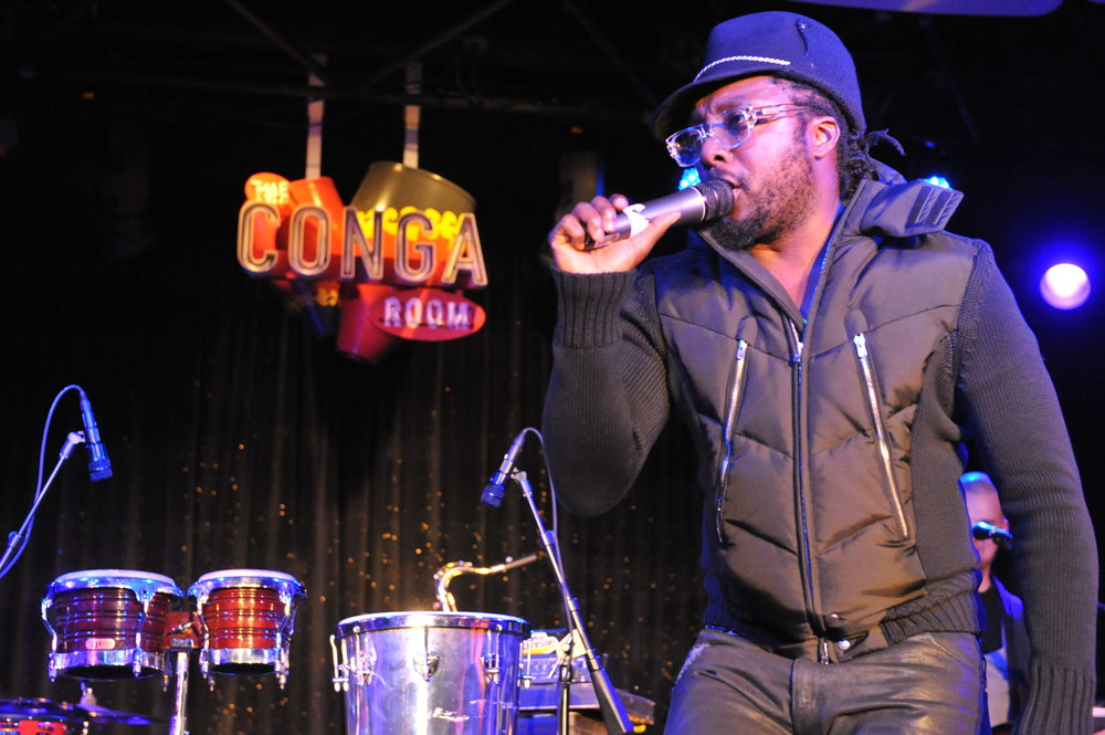 attends the grand opening of The Conga Room at L.A. Live on December 10, 2008 in Los Angeles, California.