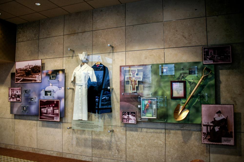 Holy Family History Wall