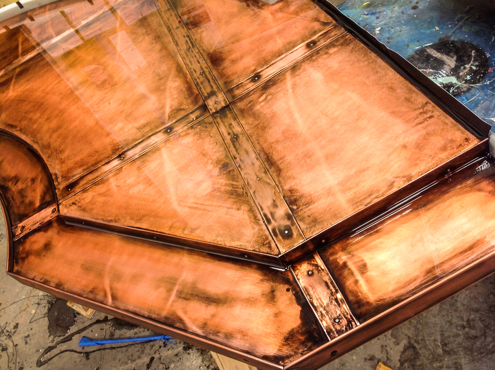 Copper Dock Custom Bar Top