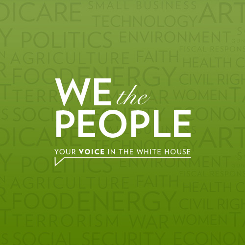 White House: We the People Redesign