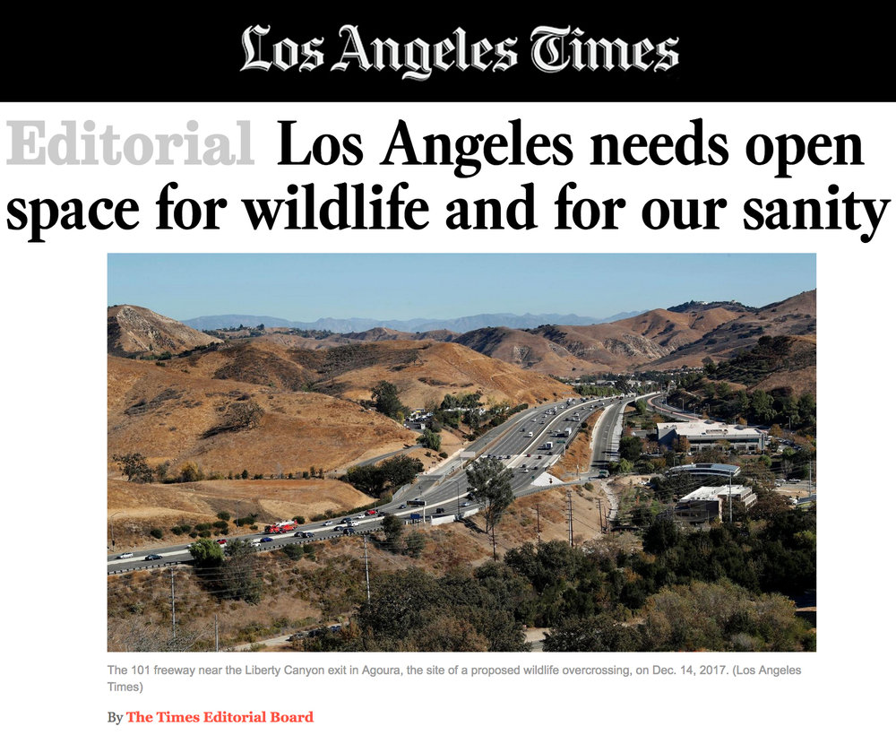 LA Times endorses CLAW's mission and projects.