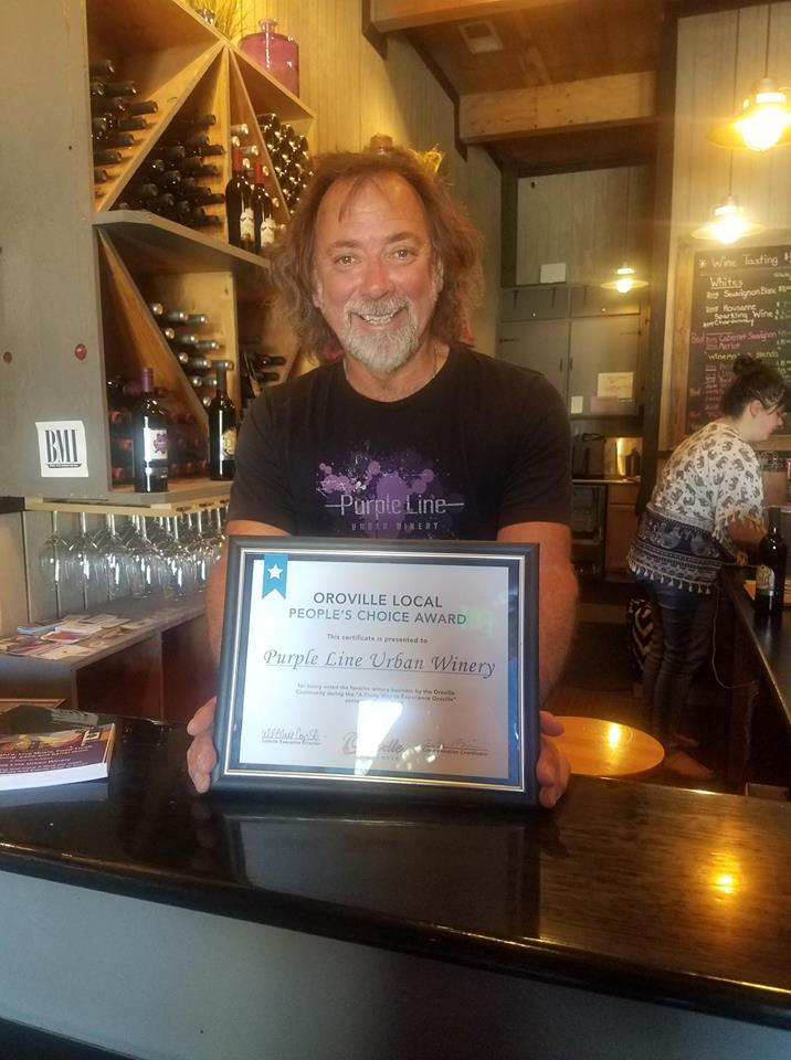 Voted most popular Winery in the area people vote