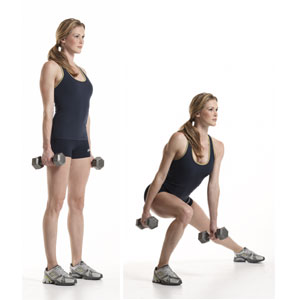 side lunge with dumbbell workout for women strong legs