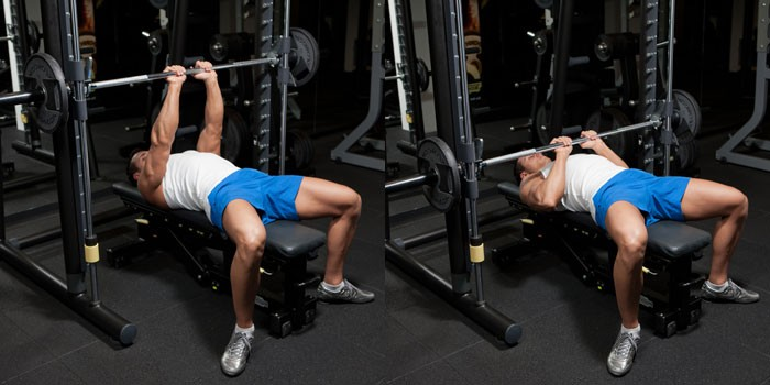 close grip bench press for triceps