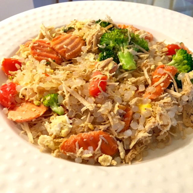 miracle noodle fried rice chicken recipe healthy