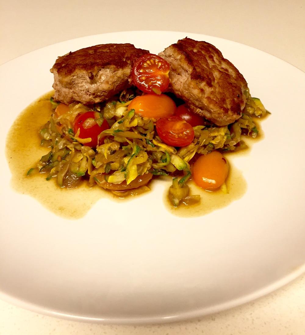 turkey burgers zucchini risotto recipe