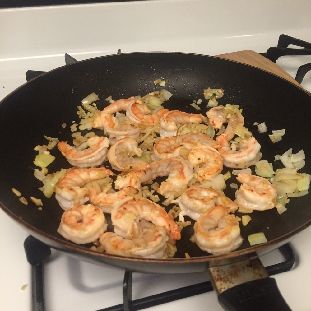 shrimp pasta miracle noodle low carb gluten free