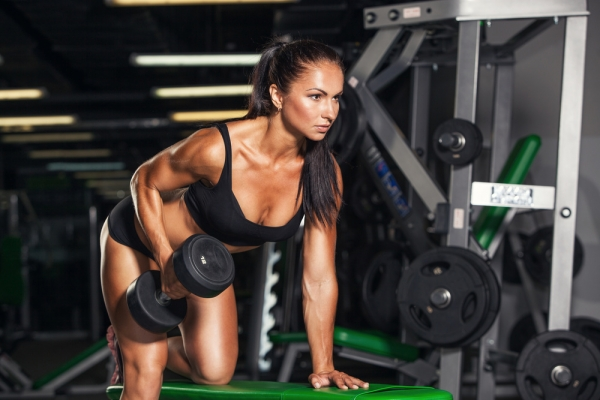 Personal Trainer Working out Fit pro active in NY