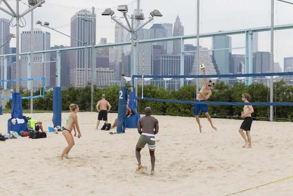 Beack Volleyball Courts NYC Summer Workout