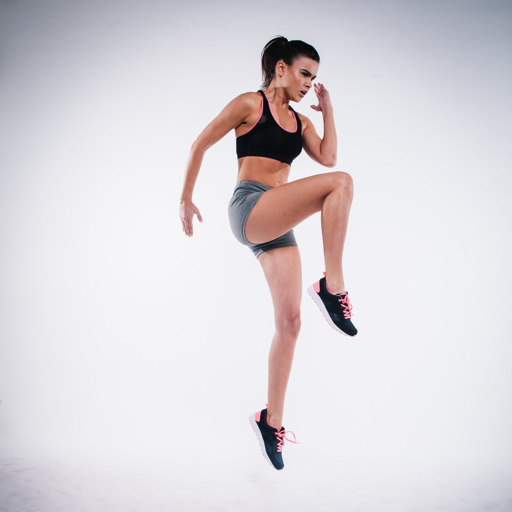 knee high hiit workout by fitproactive peronal trainers in long island city